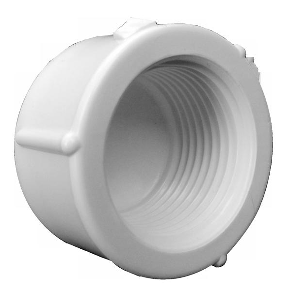 CAP ROSCÁVEL PVC