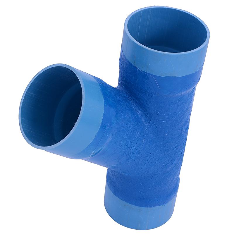 Junção Redução DEFOFO PVC Azul BBP